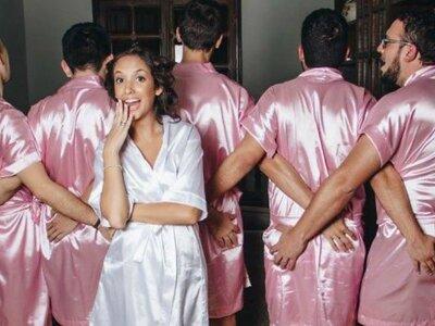 La sposa ha solo amici maschi? Ecco come trasformarli in perfette damigelle