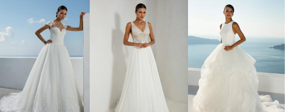 Justin Alexander Otoño 2018: Innovación que evoca lo clásico de la novia