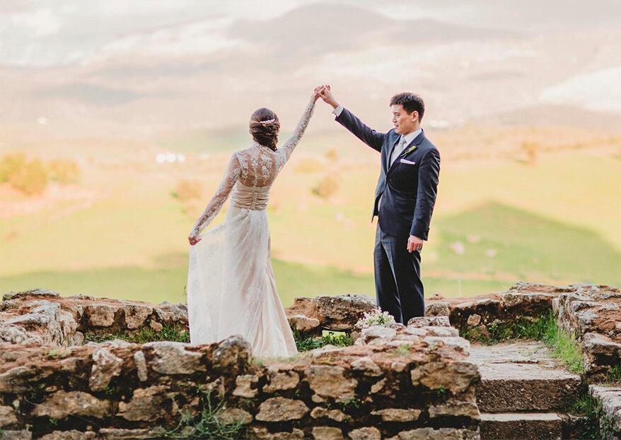 Un día formidable: así fue la boda de Sarah y Cris