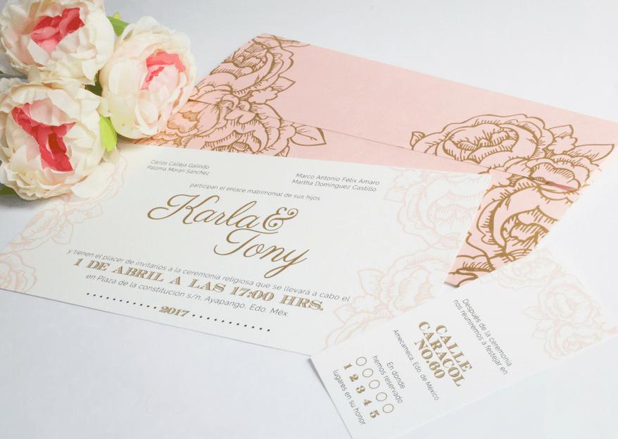 Cómo escribir las invitaciones de boda: 5 tips para redactar el texto perfectamente