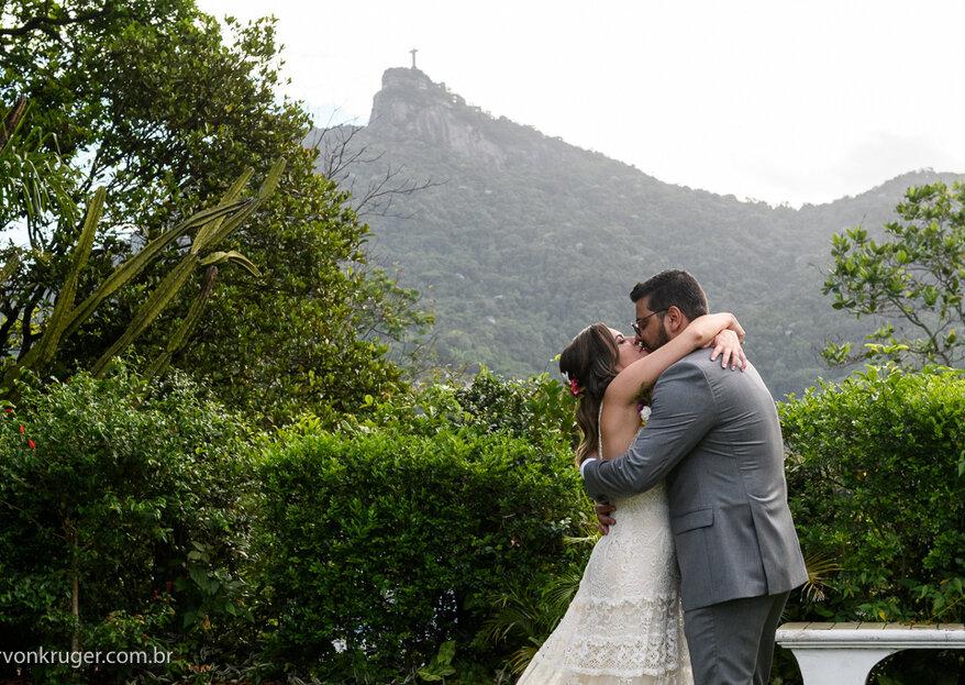 Debora e Rafael: destination wedding inesquecível e com o charme da Cidade Maravilhosa