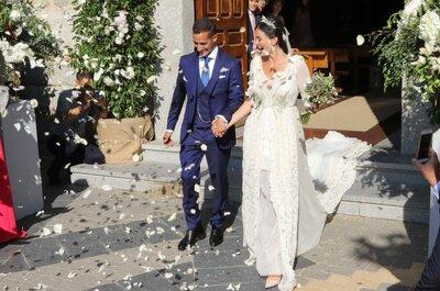 La idílica boda de Lucas Vázquez y Macarena Rodríguez