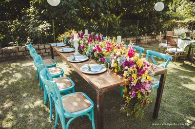 Farbige Möbel bei der Hochzeit 2017 – Dieses Detail darf als Dekoration auf keinen Fall fehlen