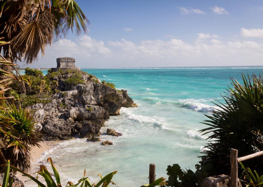 Luna de miel en México: historia, playas y arte en un único destino