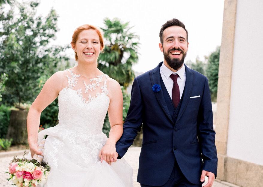Foto Visual Daniel: um dia mágico, com imagens fieis da felicidade e paixão dos noivos