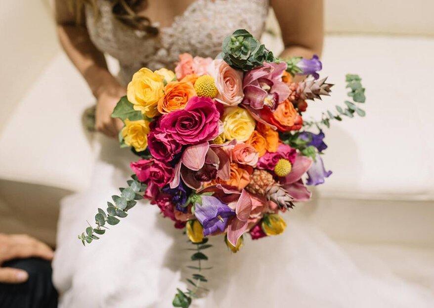 Así es como Alma Floral Studio, Event Designer expresa tus gustos en la decoración de tu boda