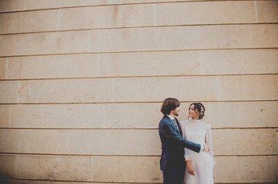 Una boda boho muy elegante: la boda de Natalia y Nacho