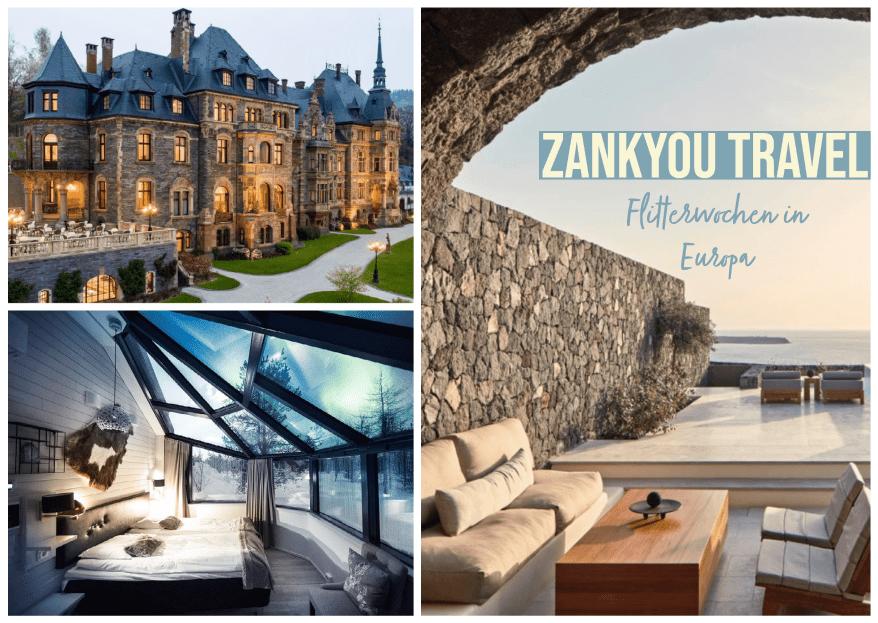 Zankyou Travel: 4 romantische Hotels in Europa für Eure Flitterwochen!