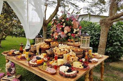 Los platos que serán todo un éxito en tu matrimonio. ¡Los expertos en caterings te aconsejan!