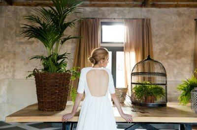 Brautkleider in der Kollektion 2015 von David Christian: Exquisite Stoffe, besondere Details, atemberaubende Brautkleider!