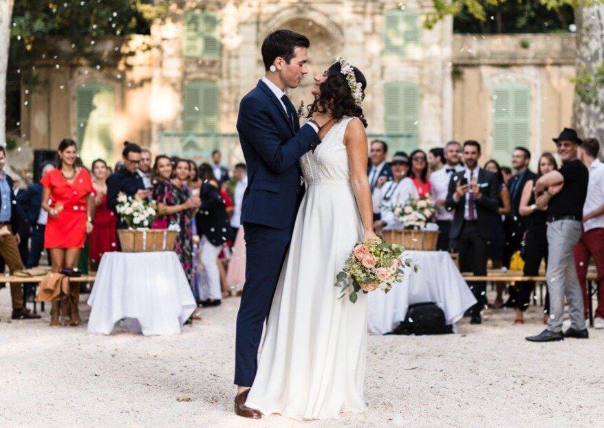 Marine et Armand: un mariage bohème aux inspirations méditerranéennes, à Marseille
