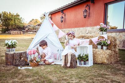 La magia de tener niños en tu celebración de boda
