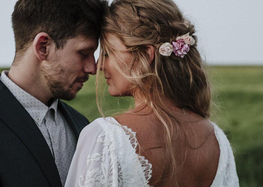 Casamento hippie chic de Luiza & Juliano: realizado em uma fazenda super especial, com uma simplicidade linda de se ver!