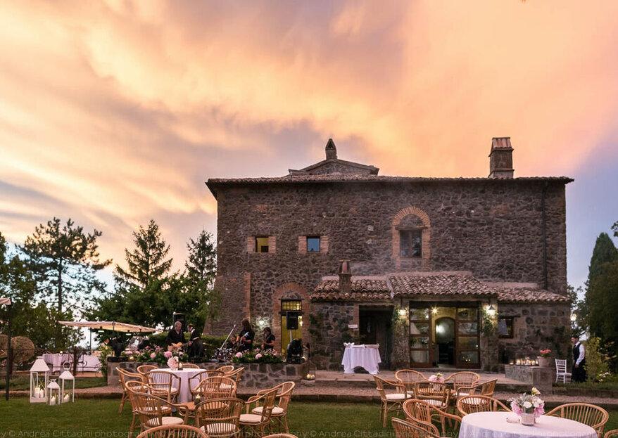 Dove vi vorreste sposare? Siamo certi che vi innamorerete di queste originali location italiane!