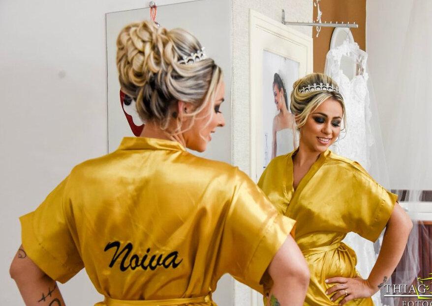 Claudia Santana Beauty: maquiadora e visagista perfeita para as noivas que desejam valorizar sua beleza natural e destacar sua individualidade!