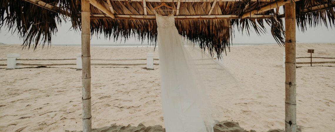 Cómo elegir vestido de novia para un matrimonio en la playa
