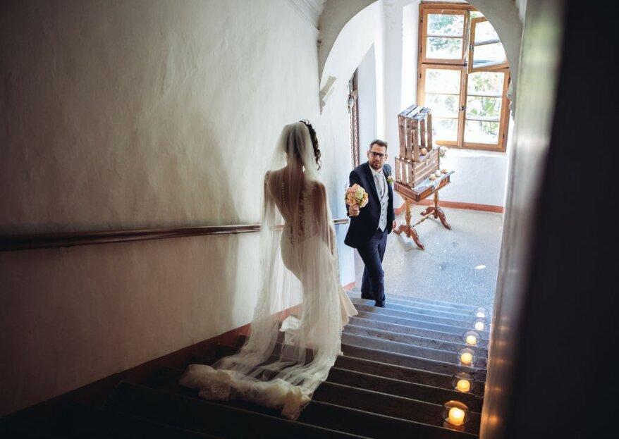 Entrare nella vita di una coppia nel loro giorno speciale e cogliere le emozioni più intense, ecco il ruolo di Gaia Berni Photography