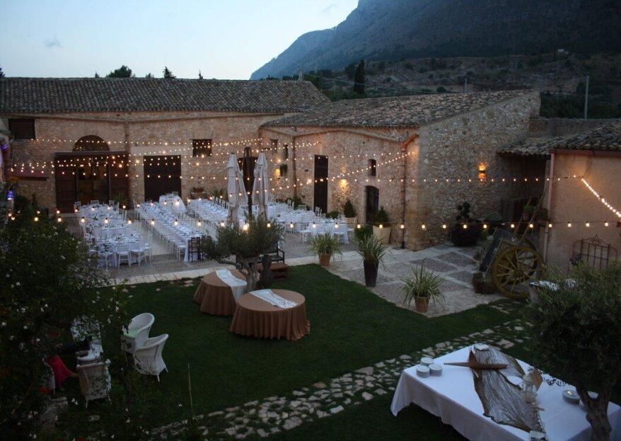 Baglio Aversa: una romantica oasi verdeggiante e ricca di storia, perfetta per convolare a nozze!