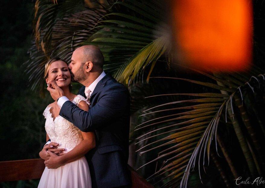 Suzy & Eduardo: Lindo casamento em Petrópolis, no Rio de Janeiro, com decoração rústica e romântica assinada por Samantha Maia.