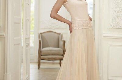 Vestido de noiva na cor rosa: o preferido das noivas de 2015