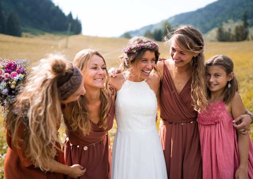 Die besten Extensions für Hochzeitsfrisuren mit langen Haaren