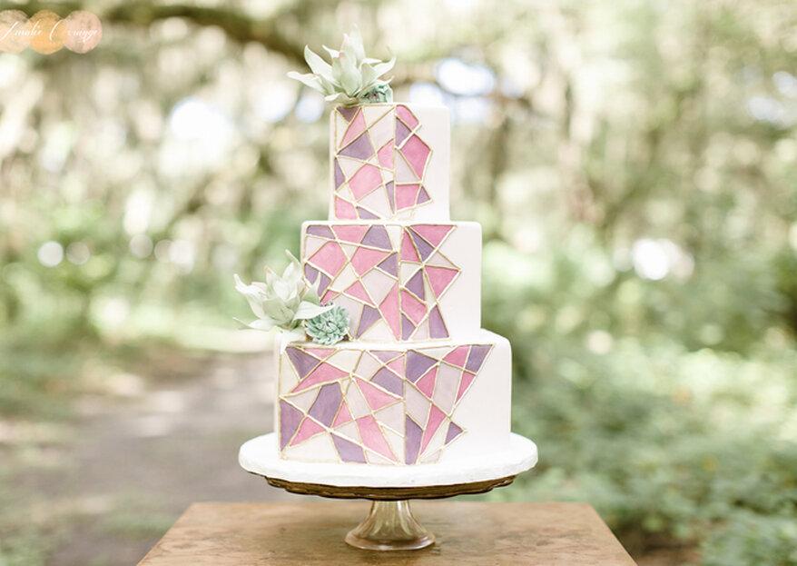 Malowane torty ślubne!