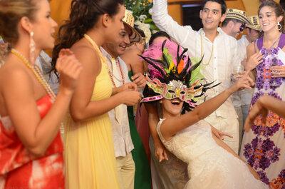 Sorprende a los recién casados con estas ideas para animar su boda