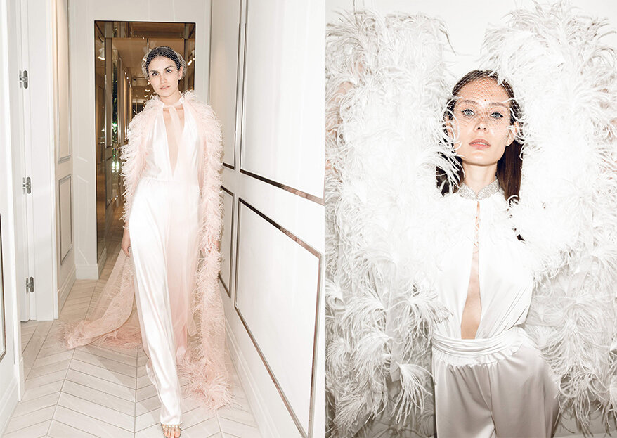 Роскошное утро невесты: совместная коллекция Юлии Шакировой и Анастасии Задориной