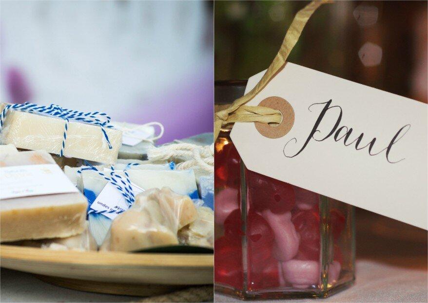 Geschmackvolle Gastgeschenke für die Hochzeit – Diese Ideen versüßen auch Feinschmeckern den Tag