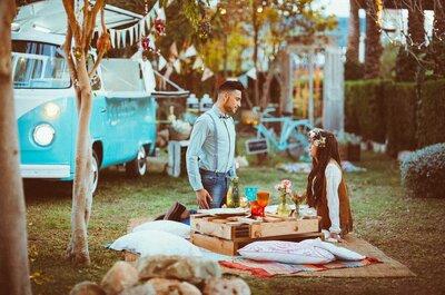 10 ideas para organizar un matrimonio hippie. ¡Logra la mejor celebración!
