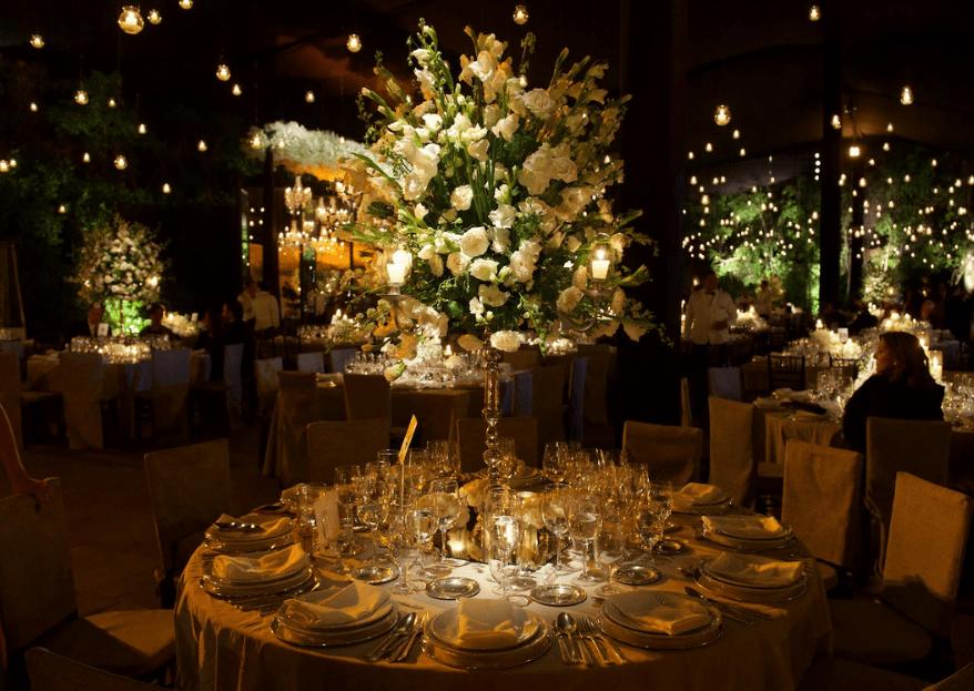 cómo decorar una boda de noche: los mejores tips de los expertos