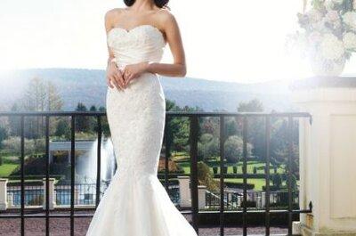 Décolletés robes de mariée 2014