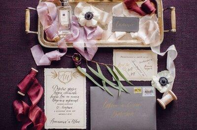 Полиграфия для свадьбы: как сочетать ее с местом проведения торжества?