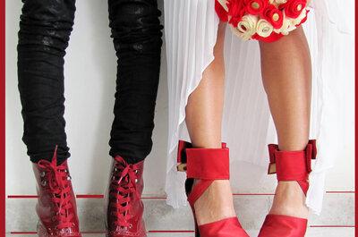 Adriana Capasso: zapatos de novia sobre medidas en Bogotá