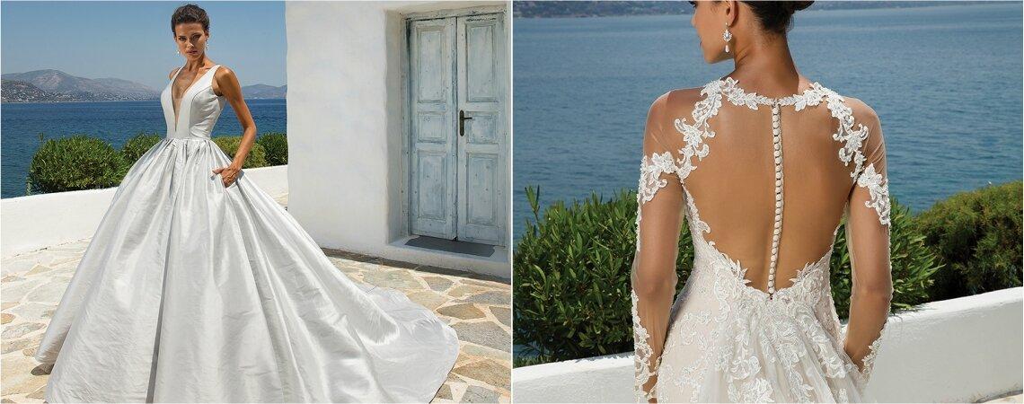 Colección 2018 en vestidos de novia Justin Alexander: elegancia atemporal para brillar