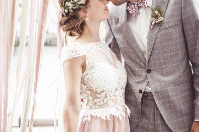 Berliner Traumhochzeit an der Spree: So sah die DIY-Hochzeit von Sophie & Christopher aus