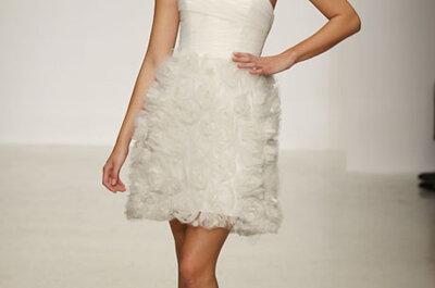Traumhafte Brautkleider von Amsale aus der Kollektion 2013