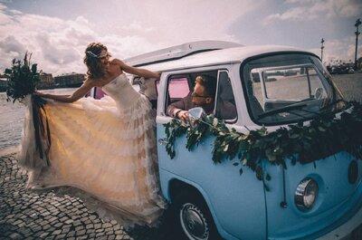 ТОП8: Свадебный кортеж для молодоженов в Санкт-Петербурге