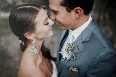 Peinados de novia recogidos con cola: Mira estas 10 increíbles opciones y ¡cautiva a todos!