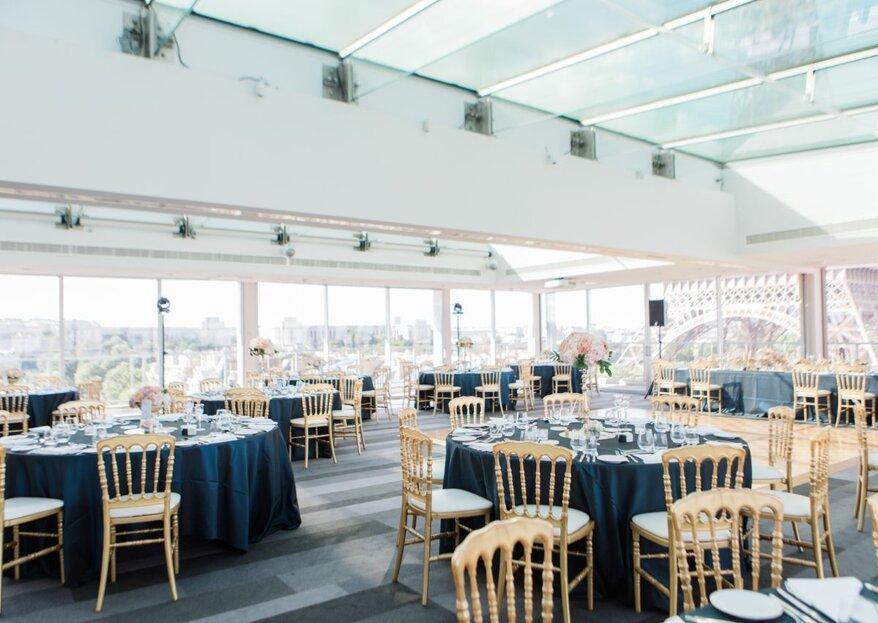 Un cadre d'exception pour un mariage en plein Paris : l'hôtel Pullman Paris Tour Eiffel
