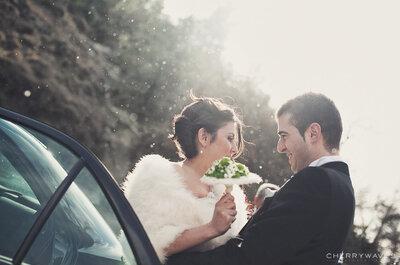 Abrigos para novias de invierno