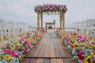 Como decorar um casamento na praia: Inspirações únicas e para todos os estilos!