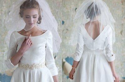 Winterhochzeit: die schönsten Brautkleider für die Wintersaison