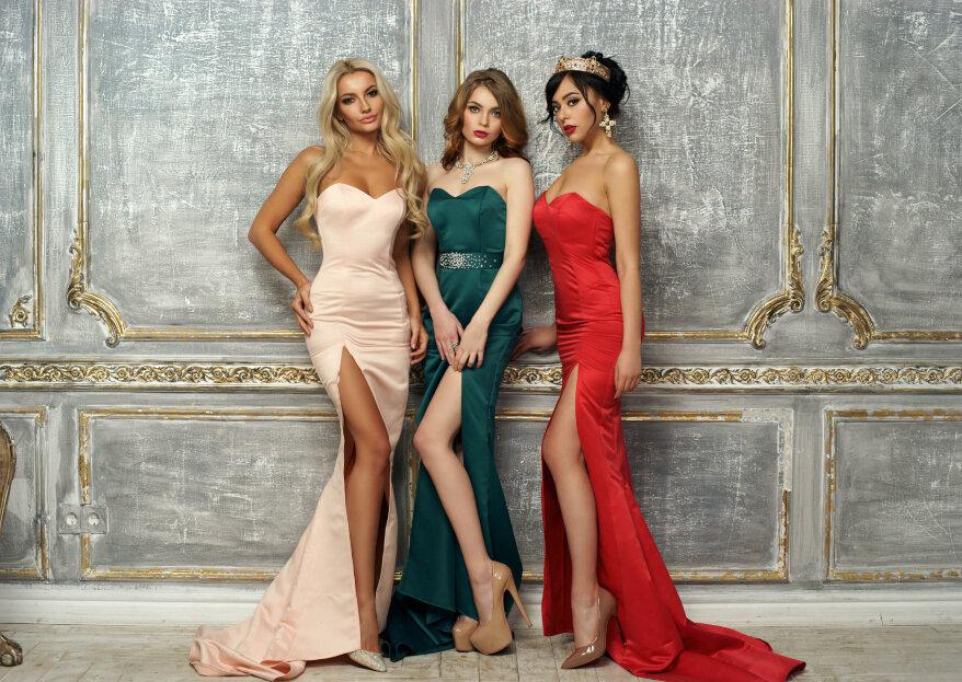 ¿Qué color de vestido te favorece según el tono de tu cabello?