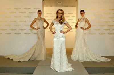 Live vanuit Barcelona, The Pronovias Lente 2014 Bridal Runway Show!