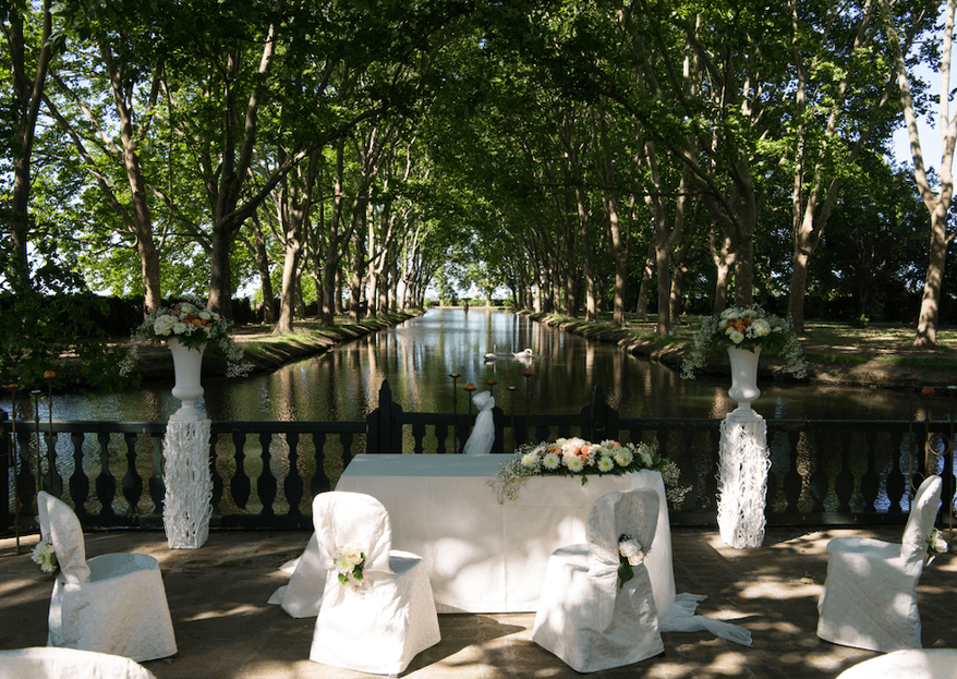 Your 2021 Wedding at Villa Grimaldi: An imitation of an Impressionist painting
