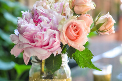 Eine Hochzeit mit Glitzer-Effekten – Einfache Tipps für eine strahlende Dekoration