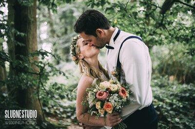 Mirja i Adam poznali się w kinie w Düsseldorf...mamy zdjęcia z ich cudownego ślubu!
