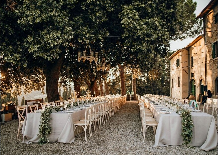 Matrimonio country chic: lo stile che coniuga la campagna all'eleganza