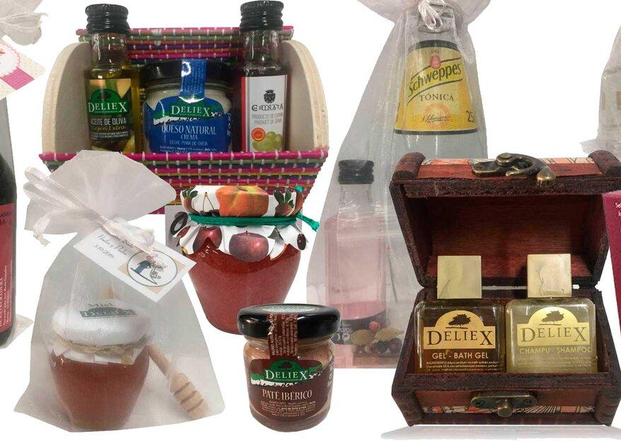 Regalos Gourmet Online, la opción más practica y especial para los invitados de tu boda